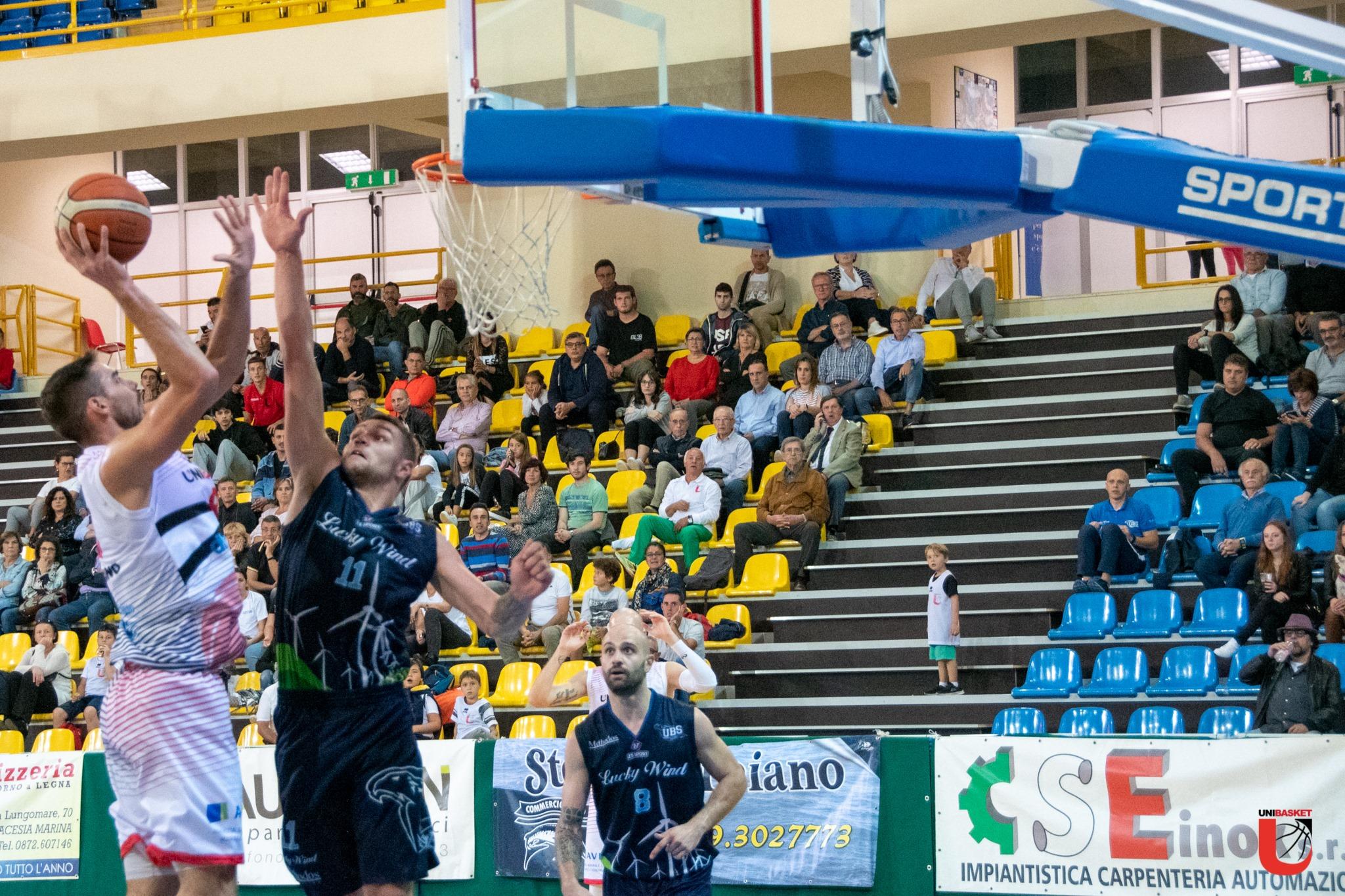 Secondo ko casalingo dell'Unibasket: Foligno espugna Lanciano