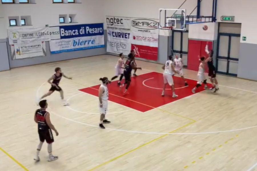 Unibasket sconfitta in casa della capolista Bramante
